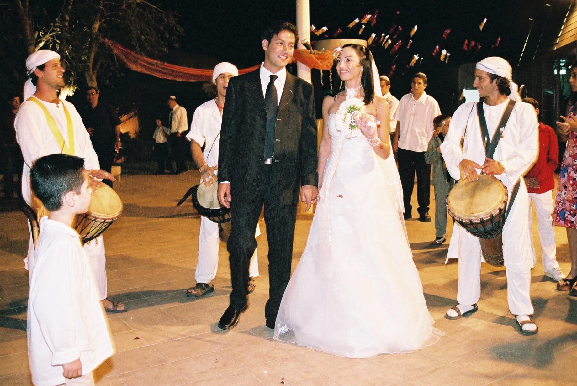מעגל מתופפים לחתונה